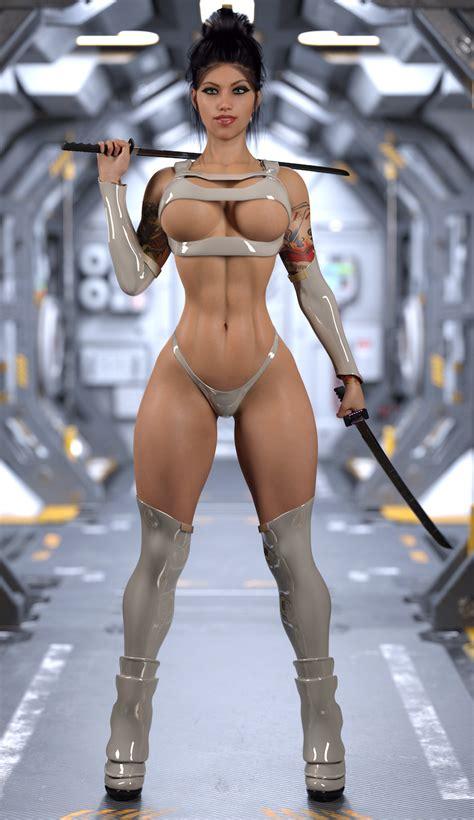 Annie SciFi Assassin By STR HL Hentai Foundry