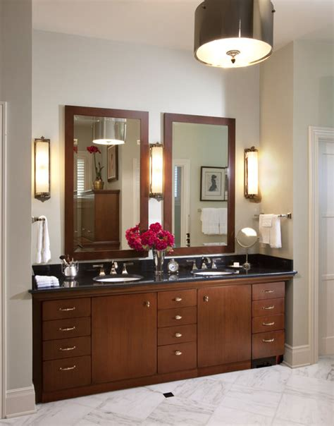 Country Bathroom Vanity Lighting by Country Home