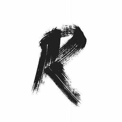 Letter Letters Typography Paint Tattoo Lettering Graphic