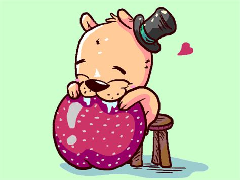 cute bear gifs find share  giphy