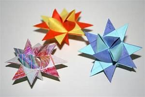 Origami Facile Noel : etoile allemande de no l fr ebelstern senbazuru ~ Melissatoandfro.com Idées de Décoration