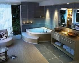 luxus badezimmer mit whirlpool preisgünstige badezimmer ideen für einen frischen hauch