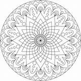 Coloring Adults Pages Mandala Colouring Printable Abstract Adult Advanced Pdf Easy Mandalas Sheets Eye Verison Colorings Getcolorings Sheet Books Getdrawings sketch template