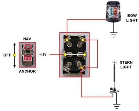 Wiring Boat Navigation Light Diagram by Nav Anchor Light Switch Connection With Pic Page 2
