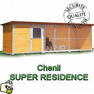 Chenil Extérieur Pour Chien : cabane luxueuse pour chien en bois ~ Melissatoandfro.com Idées de Décoration