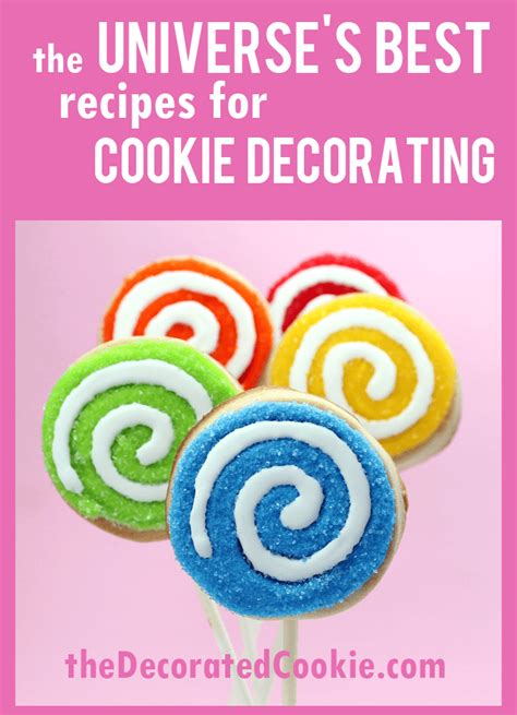 cookie dough royal icing and frosting recipes the