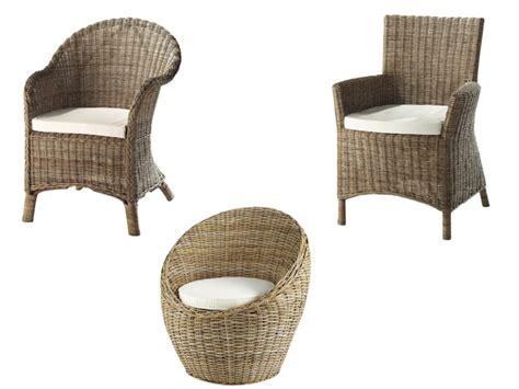 chaise rotin maison du monde les 10 plus jolis fauteuils en osier le déco de mlc