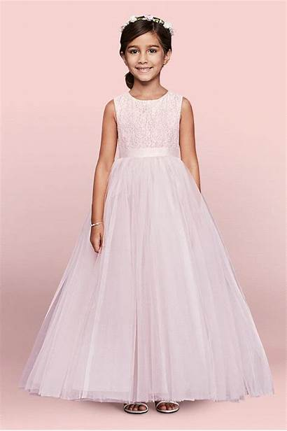 Flower Girly Wearing Pink Gown Ball Bridal
