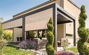 Store Pour Terrasse : pergola stores pour terrasse protection solaire avec ~ Premium-room.com Idées de Décoration