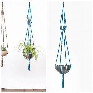 Suspension Pour Plante Interieur : suspension pour plantes macram bymadjo neptune d co ~ Teatrodelosmanantiales.com Idées de Décoration