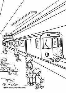 Zug, Mahlvorlage, F, U00fcr, Kinder, Ausmalbilder, Zug, 11