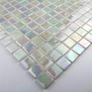 mosaique salle de bain et douche pate de verre rainbow ice With pate de verre salle de bain