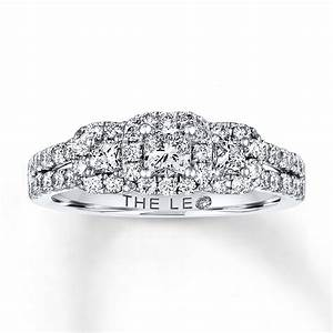 kay leo diamond engagement ring 7 8 ct tw diamonds 14k With leo diamond wedding rings
