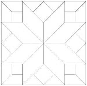 Printable Barn Quilt Block Patterns