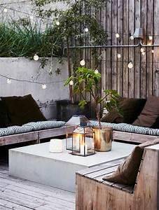 Terrassenmöbel Für Kleine Terrassen : 1001 ideen f r terrassengestaltung modern luxuri s und gem tlich ~ Markanthonyermac.com Haus und Dekorationen