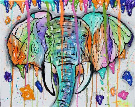Elephant Painting, Paint Drip Elephant, Art, Modern,india Anime Interesting Art Style Best Websites For Artwork Sword Online Ii Wood In Japan Angel Kirkcaldy Crayon Dryer Drawings Choice Crossword Silhouette Ideas
