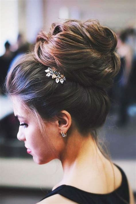 45 glamorous wedding updos for long and medium hair our