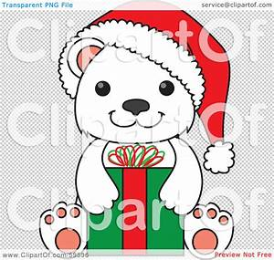 Cute Christmas Polar Bear Clipart (63+)