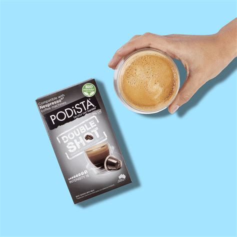 When it comes to espresso blends arabica coffee beans are recommended and mostly used. PODiSTA Nespresso®* Compatible Double Shot Coffee Pod 10pk ...