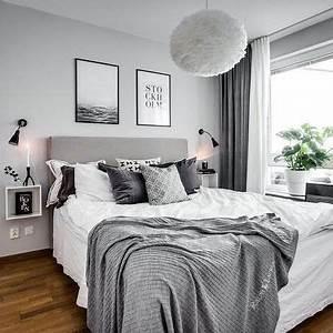 Gestaltungsideen Schlafzimmer Wände : schlafzimmer einrichten grau ~ Markanthonyermac.com Haus und Dekorationen