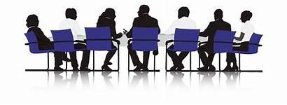 Vector Discussion Team Panel Silhouette Clip Community