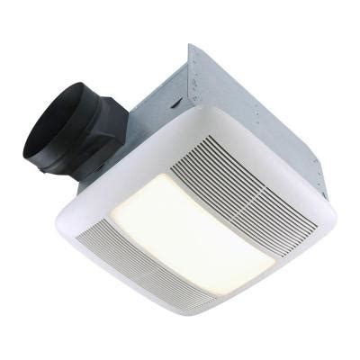 bathroom exhaust fan with light home depot nutone qt series very quiet 110 cfm ceiling exhaust bath