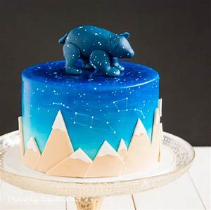 A Very Special And Unique Baby Shower Cake For Baby Ursa
