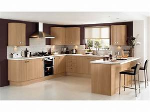 cuisine equipee en bois couleur cuisine cuisines francois With idee deco cuisine avec cuisine Équipée en bois moderne
