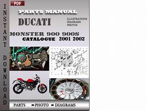 Ducati Monster 900 900s 2001 2002 Parts Manual Catalog Pdf