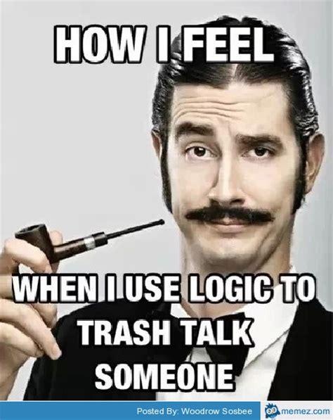 Meme Trash - use logic to trash talk memes com