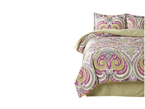 echo design vineyard paisley comforter set full shipped