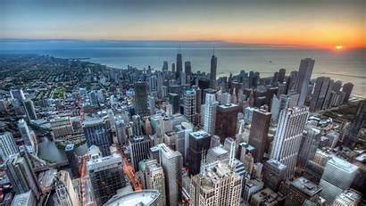 Wallpapers Chicago Willis Tower Views Background Desktop