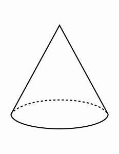 Flashcard Of A Cone