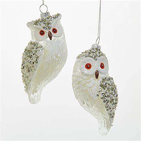 kurt adler owl ornaments for christmas tree comfy christmas