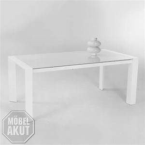 Tisch Weiß Hochglanz Ausziehbar : esstisch cosima tisch in wei glas lack wei hochglanz ausziehbar 180 230x90 ebay ~ Buech-reservation.com Haus und Dekorationen