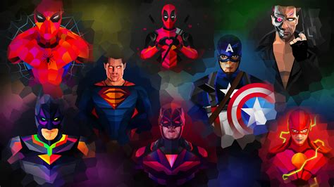 Animated Superheroes Hd Wallpapers - wallpapers 65 images