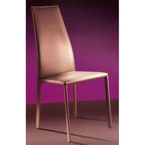 chaise de salle a manger en cuir blanc