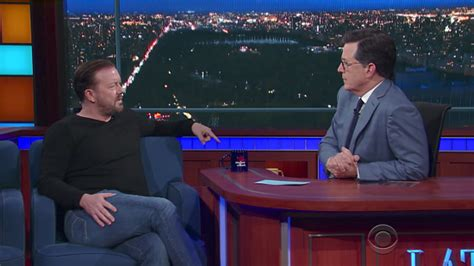 Ricky Gervais, Stephen Colbert Disagree On 'lord Of The