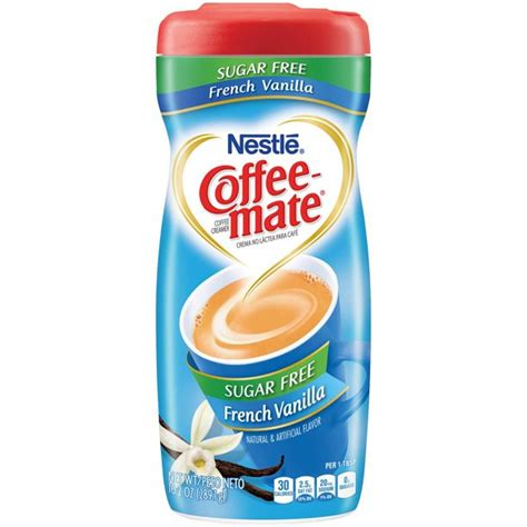 I switched myself over to drinking americanos with coffee cream (no sugar). Coffee-Mate Coffee Creamer Sugar Free French Vanilla, Pack of 6 - Walmart.com - Walmart.com