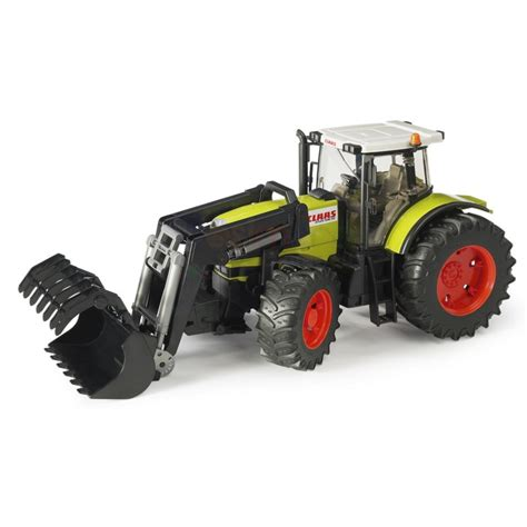 traktor mit frontlader claas atles 936 rz traktor mit frontlader 03011 bruder