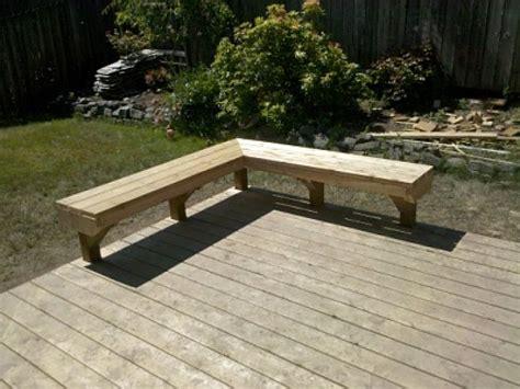 deck bench plans built in deck benches plans interior designs