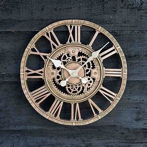 Newby Mechanical Clock in Bronze by OutsideIn