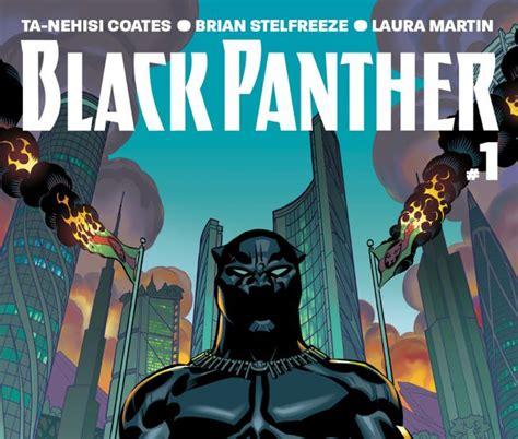 marvel legend series black panther black panther 2016 1 comics marvel