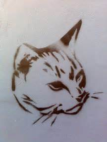 cat stencil cat stencil flickr photo