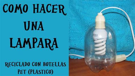 diy lara reciclada con botellas de plastico