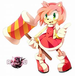 Sonic The Hedgehog Amy Rose   Render Universe