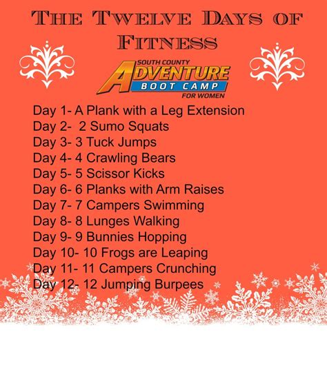 Your Complete 12 Days Of Fitness Challenge  Things To Do In Ri  Ri Events