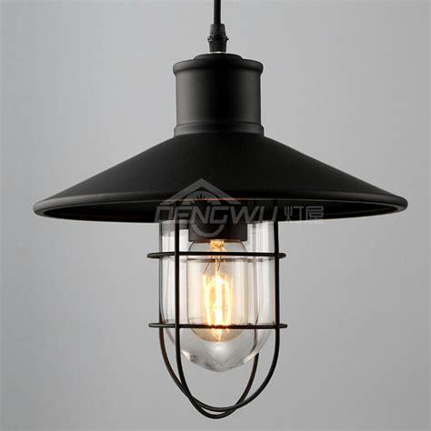 Vintage Industrial Loft Style Ceiling Fixtures Retro Lamp