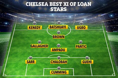 Chelsea best XI of loan stars including Michy Batshuayi at ...