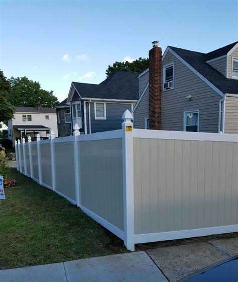 vinyl fence colors vinyl archives westchester fence company 914 337 8700